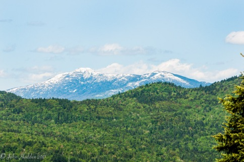 Mt. Mansfield's Memorial Day snowfall