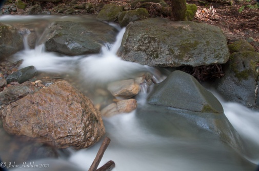 Water and rock in Cobb Brook