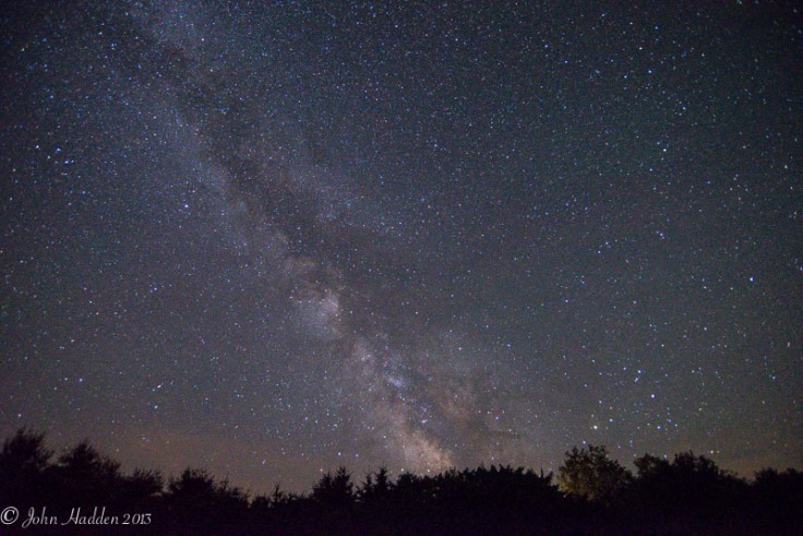 Looking south into the heart of the Milky Way