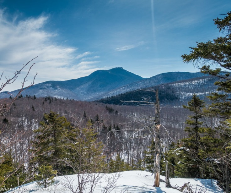 The view of Camel's Hump from Bert's Crown